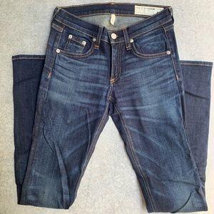 Rag & Bone Medium Wash Skinny Jean SZ 24